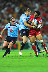Action from the Super Rugby Round 10 match between the Queensland Reds and The Waratahs 23 April 2011 - Conditions of Use - this image is intended for editorial use only.  Any further use requires additional clearance.  Photo - Chris Dalton (SMP Images).