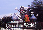 Hershey, PA, Hershey Chocolate World, Entrance Signs