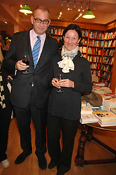 WILLIE STIRLING and GERTRUD SCHNEIDER at a party to celebrate the publication of 'The Umbrella of Faith' by Willie Stirling held at the Daunt Bookshop, Holland Park Road, London W11 on 27th November 2007.<br /><br />NON EXCLUSIVE - WORLD RIGHTS