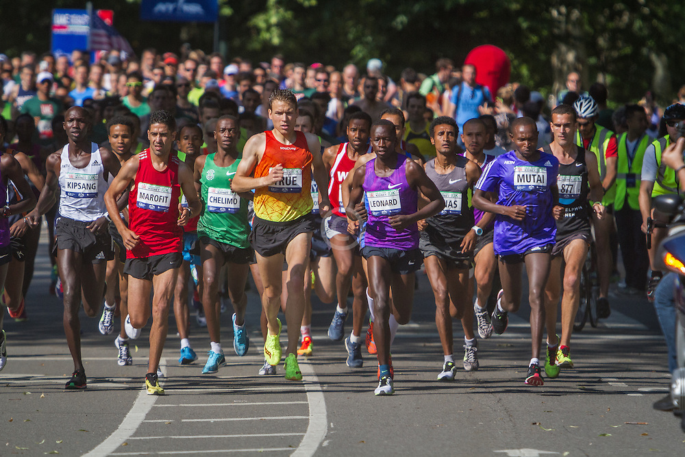 UAE Healthy Kidney 10K, start in Central Park