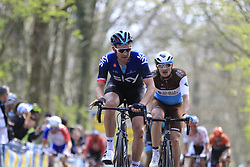 Ian Stannard (GBR) Team Sky on the the first ascent of the Kemmelberg during the 2019 Gent-Wevelgem in Flanders Fields running 252km from Deinze to Wevelgem, Belgium. 31st March 2019.<br /> Picture: Eoin Clarke | Cyclefile<br /> <br /> All photos usage must carry mandatory copyright credit (© Cyclefile | Eoin Clarke)
