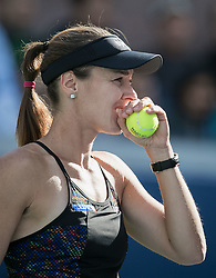 September 8, 2017 - Flushing Meadows, New York, U.S - Martina Hinghis(photo)/Jamie Murray defeat CoCo Vandeweghe/Horia Tecau in Mixed Doubles on Day Twelve of the 2017 US Open at the USTA Billie Jean King National Tennis Center on Friday September 8, 2017 in the Flushing neighborhood of the Queens borough of New York City.  Hinghis/Murray defeat Vandeweghe/Tecau, 6-4, 7-6  (Credit Image: © Prensa Internacional via ZUMA Wire)
