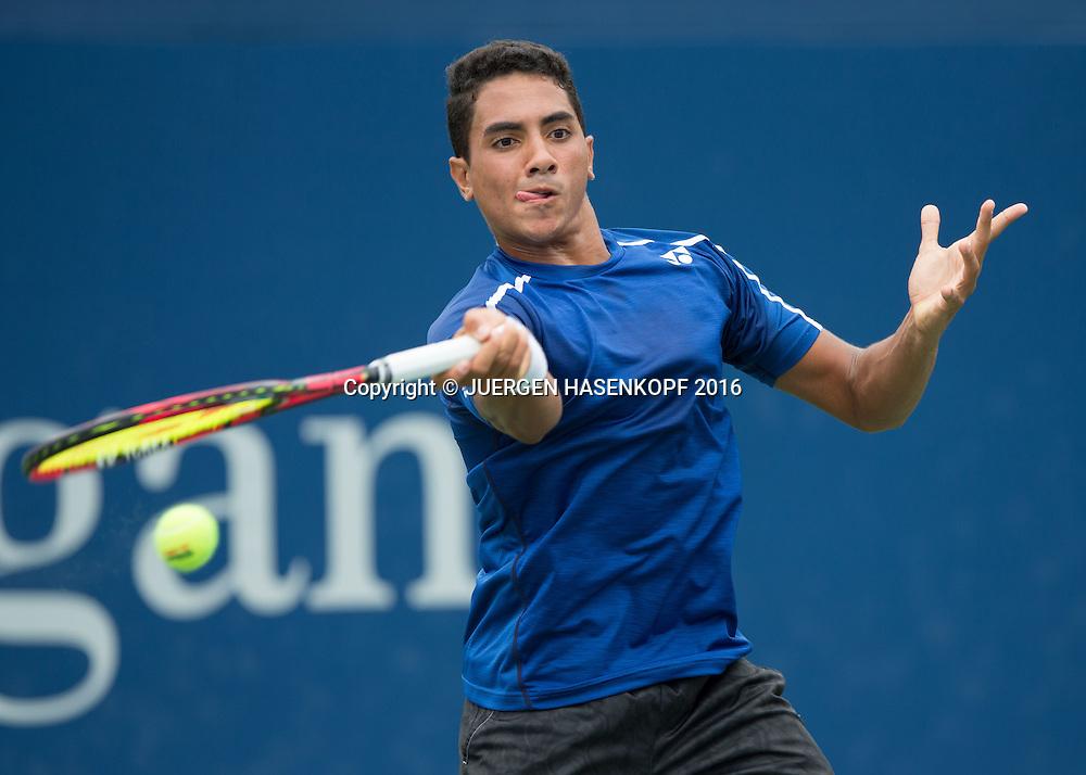 YOUSSEF HOSSAM (EGY) Junior BS<br /> <br /> Tennis - US Open 2016 - Grand Slam ITF / ATP / WTA -  USTA Billie Jean King National Tennis Center - New York - New York - USA  - 6 September 2016.