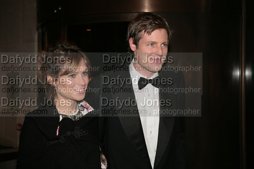 Zac and Sheherazade Goldsmith, THE DINER DES TSARS in aid of UNICEF. To celebrate the launch of Quintessentially Wine, Guildhall. London. 29 March 2007.  -DO NOT ARCHIVE-© Copyright Photograph by Dafydd Jones. 248 Clapham Rd. London SW9 0PZ. Tel 0207 820 0771. www.dafjones.com.