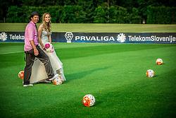 Couple at wedding shooting during NZS Draw for season 2016/17, on June 24, 2016 in Brdo pri Kranju, Slovenia. Photo by Vid Ponikvar / Sportida
