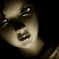 portrait of girl doll