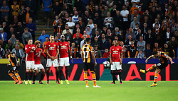 Robert Snodgrass of Hull City takes a free kick - Mandatory by-line: Matt McNulty/JMP - 27/08/2016 - FOOTBALL - KC Stadium - Hull, England - Hull City v Manchester United - Premier League