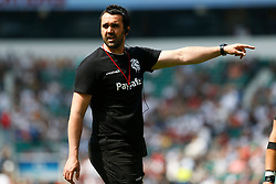 Barbarians Coach Jon Thomas - Mandatory by-line: Ryan Hiscott/JMP - 27/05/2018 - RUGBY - Twickenham Stadium - London, England - England v Barbarians - Quilter Cup