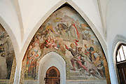 Albrechtsburg, innen, Meißen, Sachsen, Deutschland.|.Albrechtsburg, interior, Meissen, Saxony, Germany.