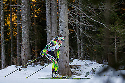 Nadezhda Skardino (BLR) during Women 12.5 km Mass Start at day 4 of IBU Biathlon World Cup 2015/16 Pokljuka, on December 20, 2015 in Rudno polje, Pokljuka, Slovenia. Photo by Urban Urbanc / Sportida