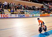 Prinses Margriet is aanwezig bij de bijeenkomst van Grenzeloos actief en de finales van de wereldkampioenschappen para-cycling 2019 in Omnisport te Apeldoorn. OP de foto wielrenster Caroline Groot<br /> <br /> Princess Margriet is present at the meeting of Grenzeloos active and the finals of the 2019 para-cycling world championships in Omnisport in Apeldoorn. On the photo: cyclist Caroline Groot