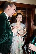 VIOLET FRASER; ALAN ROXBURGH , The Royal Caledonian Ball 2013. The Great Room, Grosvenor House. Park lane. London. 3 May 2013.