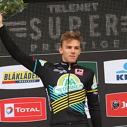 27-10-2019: Wielrennen: Superprestige Veldrijden: Thibau Nys wint in Gavere bij de Junioren voor Lennart Belmans