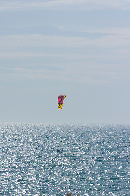 parasailing, marbella, costa, del, sol, spain, water sport, windsurfing, spain, holiday