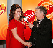 Nigella Lawson (left), is interviewed by Marc Summers before the First Food Network Awards Show live to tape performance was held at the Jackie Gleason Theater  of the Performing Arts, in Miami, FL on  Feb 23, 2007.  (Photo/Lance Cheung) <br /> <br /> PHOTO COPYRIGHT 2007 LANCE CHEUNG<br /> This photograph is NOT within the public domain.<br /> This photograph is not to be downloaded, stored, manipulated, printed or distributed with out the written permission from the photographer. <br /> This photograph is protected under domestic and international laws.