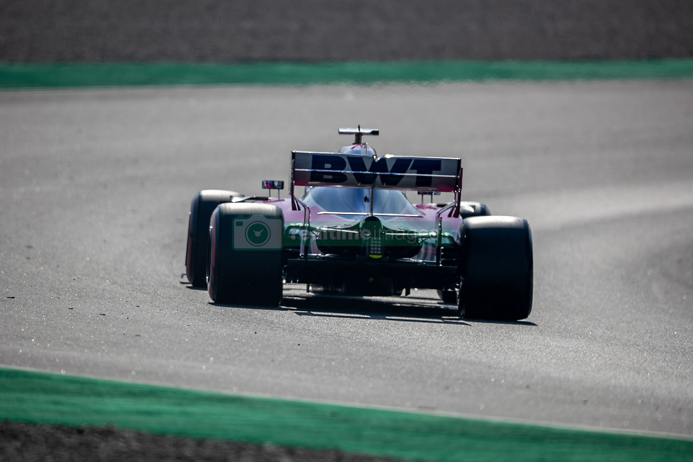 February 28, 2019 - Montmelo, Barcelona, Calatonia, Spain - Lance Stroll of Sport Pesa Racing Point F1 Team seen in action during the second week F1 Test Days in Montmelo circuit, Catalonia, Spain. (Credit Image: © Javier Martinez De La Puente/SOPA Images via ZUMA Wire)