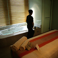BEIJING, MARCH 18 : inside the SPA of the new Sofitel in Beijing, March 18, 2008.