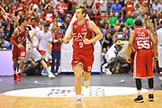 DESCRIZIONE : Campionato 2013/14 Finale GARA 7 Olimpia EA7 Emporio Armani Milano - Montepaschi Mens Sana Siena Scudetto<br /> GIOCATORE : Nicolo' Melli<br /> CATEGORIA : Esultanza Ritratto<br /> SQUADRA : Olimpia EA7 Emporio Armani Milano<br /> EVENTO : LegaBasket Serie A Beko Playoff 2013/2014<br /> GARA : Olimpia EA7 Emporio Armani Milano - Montepaschi Mens Sana Siena<br /> DATA : 27/06/2014<br /> SPORT : Pallacanestro <br /> AUTORE : Agenzia Ciamillo-Castoria / Luigi Canu<br /> Galleria : LegaBasket Serie A Beko Playoff 2013/2014<br /> Fotonotizia : DESCRIZIONE : Campionato 2013/14 Finale GARA 7 Olimpia EA7 Emporio Armani Milano - Montepaschi Mens Sana Siena<br /> Predefinita :