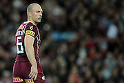 May 25th 2011: Darren Lockyer of the Maroons looks to the referee during game 1 of the 2011 State of Origin series at Suncorp Stadium in Brisbane, Australia on May 25, 2011. Photo by Matt Roberts/mattrIMAGES.com.au / QRL