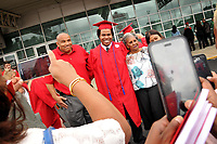 Post commencement photo-op outside PNC Arena.