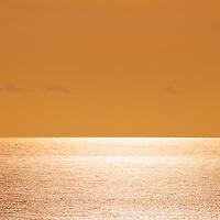 Golden Sunset Horizon County Kerry Ireland / wt010
