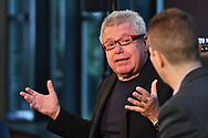 The Wall Street Journal The Future of : Smart Cities Interview featuring Daniel Libeskind, founder and Principal Architect Studio Daniel Libeskind, in New York City on June 21, 2017. (photo by Gabe Palacio)