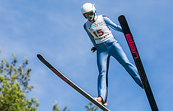 Maja Gradišar (SLO) during Ski jumping Summer cup - 45. Revija skokov Mostec on June 4, 2016 in Mostec hill, Ljubljana, Slovenia.Photo by Vid Ponikvar / Sportida