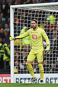 Derby County goalkeeper Scott Carson (1) during the EFL Sky Bet Championship match between Derby County and Sheffield Wednesday at the iPro Stadium, Derby, England on 29 October 2016. Photo by Jon Hobley.