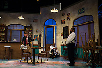 "Dress rehearsal for ""Master Harold and the Boys at Winnipesaukee Playhouse.  Karen Bobotas for the Laconia Daily Sun"
