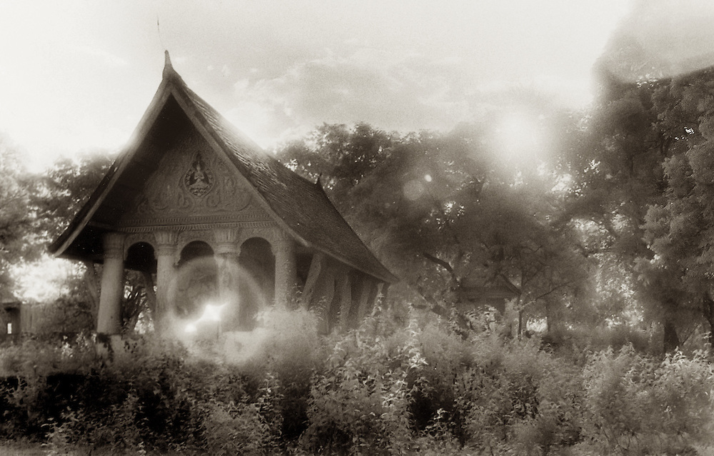Deserted Wat - Luang Prabang, Laos.
