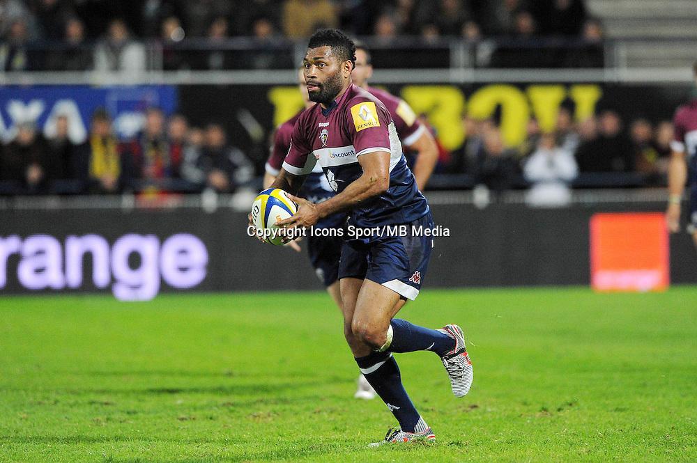 Metuisela Talebula  - 13.03.2015 - Clermont / Begles Bordeaux  -  20eme journee de Top 14<br /> Photo : Jean Paul Thomas  / Icon Sport<br /> <br />   *** Local Caption ***