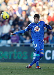 08.01.2012, Stadion Coliseum Alfonso Perez, Getafe, ESP, Primera Division, FC Getafe vs Athletic Bilbao, 18. Spieltag, im Bild Getafe's Michel Madera // during the football match of spanish 'primera divison' league, 18th round, between FC Getafe and Athletic Bilbao at Coliseum Alfonso Perez stadium, Getafe, Spain on 2012/01/08. EXPA Pictures © 2012, PhotoCredit: EXPA/ Alterphotos/ Alvaro Hernandez..***** ATTENTION - OUT OF ESP and SUI *****