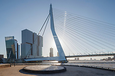 Rotterdam bridges, Zuid Holland, Netherlands