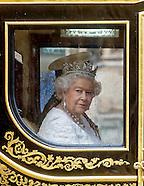 Queen Elizabeth Opens Parliament 2016