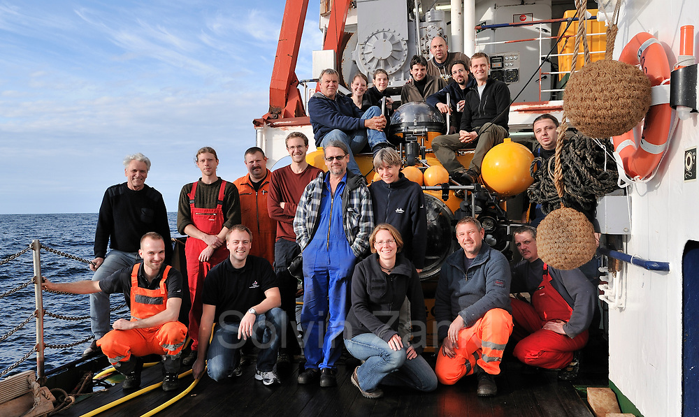 FS POSEIDON (P420) Fahrtleitung: Armin Form GEOMAR Kiel