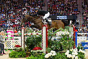 Shane Sweetnam - Amaretto d' Arco<br /> Rolex FEI World Cup Final 2013<br /> © DigiShots
