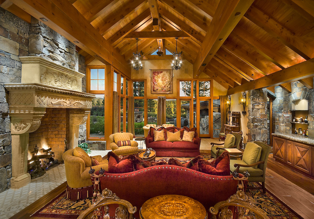 Lahontan Residence.Doc Gelso Construction.Bentley Interior Design.Ward Young Architects
