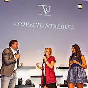 NLD/Amsterdam/20150827 - Presentatie TOVxChantal bag, Michael Ling, Chantal Bles en Sarissa Ling