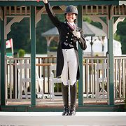 Ayden Uhlir (Region 6), Gold Medal Region 3 Individual Young Rider Dressage Champion at the 2013 North American Junior and Young Rider Championships in Lexington, Kentucky