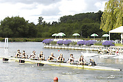 Henley, GREAT BRITAIN, GV of the Temple Island and the regatta course, Remenham Challenge Cup,  Bucks Station, Furnival Sculling Club and Leander Club vs Berks station, Thames Rowing Club. 2008 Henley Royal Regatta, on  Friday, 04/07/2008,  Henley on Thames. ENGLAND. [Mandatory Credit:  Peter SPURRIER / Intersport Images] Rowing Courses, Henley Reach, Henley, ENGLAND . HRR