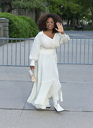 May 15, 2019 - New York, New York, United States - Oprah Winfrey arrives at the Statue Of Liberty Museum Opening Celebration at Battery Park  (Credit Image: © Lev Radin/Pacific Press via ZUMA Wire)