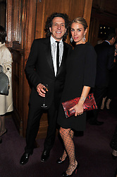 Jeweller STEPHEN WEBSTER and ASSIA WEBSTER at the Russian Ballet Icons Gala & Dinner dedicated to Anna Pavlova held at the The London Coliseum 33-35 St.Martin's Lane, London on 4th March 2012.