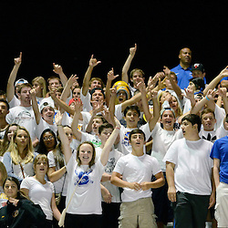 Staff photos by Tom Kelly IV<br /> Springfield fans cheer on their team during the Friday night football game against Interboro.