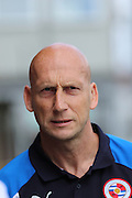 Jaap Stam Manager of Reading Football Club prior the Pre-Season Friendly match between AFC Wimbledon and Reading at the Cherry Red Records Stadium, Kingston, England on 23 July 2016. Photo by Stuart Butcher.