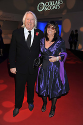 TONY & JAN McHALE he is the producer of TV's Holby City at the annual Collars & Coats Gala Ball in aid of Battersea Dogs & Cats Home held at Battersea Evolution, Battersea Park, London on 11th November 2011.
