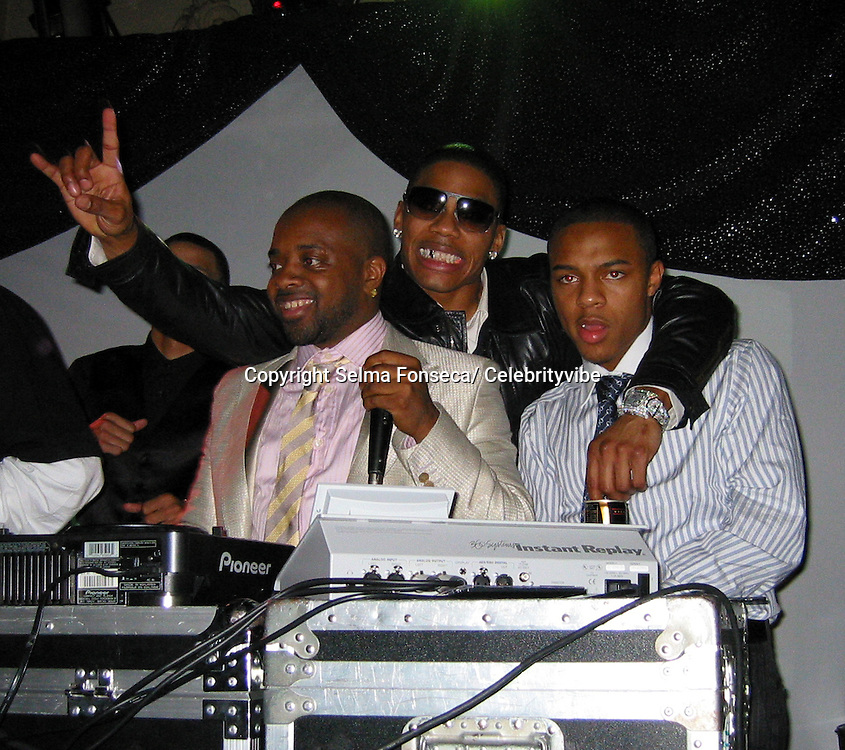 Jermaine Dupri, Nelly & Bow Wow.49th Annual GRAMMY Awards -Jermaine Dupri's Atlanta Invasion 2007 - Pre Grammy Celebration - Inside.Pacific Theatre.Hollywood, California, United States.February 10, 2007 .Photo By Selma Fonseca/ Celebrityvibe.com.To license this image please call (212) 410 5354; or.Email: celebrityvibe@gmail.com ;.Website: www.celebrityvibe.com
