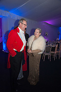 DAVID BIRCH; SUE HENTON, Quorn Hunt Ball, Stanford Hall. Standford on Soar. 25 January 2014