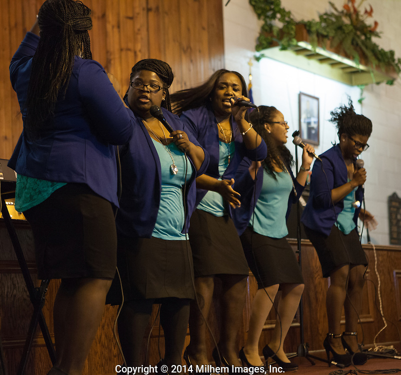 Detroit Gospel Community of Detroit perform at various local churches