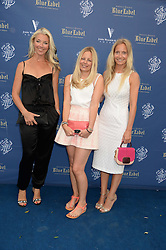 The Johnnie Walker Blue Label and David Gandy Drinks Reception aboard John Walker & Sons Voyager, St.Georges Stairs Tier, Butler's Wharf Pier, London, UK on 16th July 2013.<br /> Picture Shows:-Tamara Beckwith, Astrid Harbord, Martha Ward.