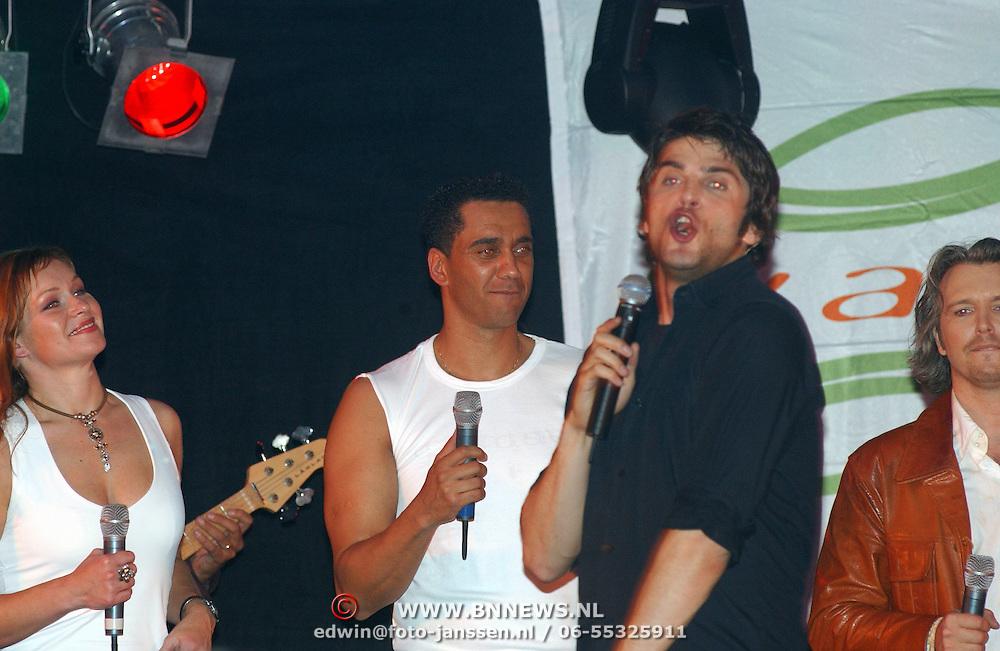 Sportgala 2003 Huizen, optreden Xander de Buisonje en Franklin Brown